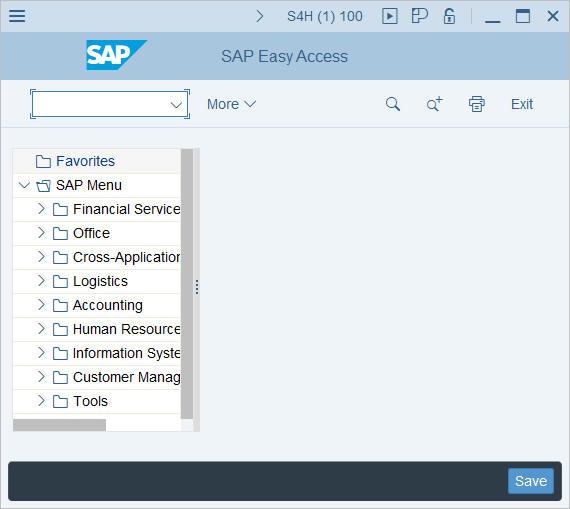Screen layout: Optimize the toolbar in Fiori theme